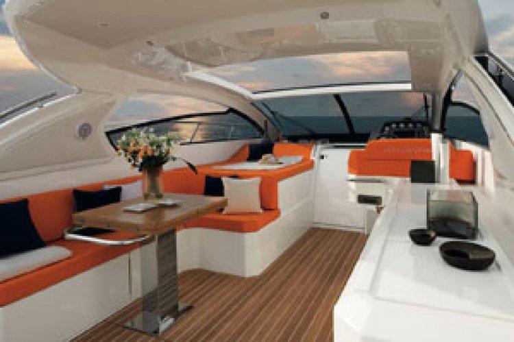 Motor yacht boat rental in Portomaso Marina, Malta