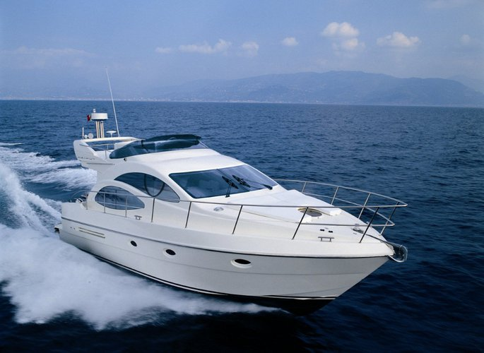 Charter this beautiful Azimut 42 in Ayia Napa, Cyprus