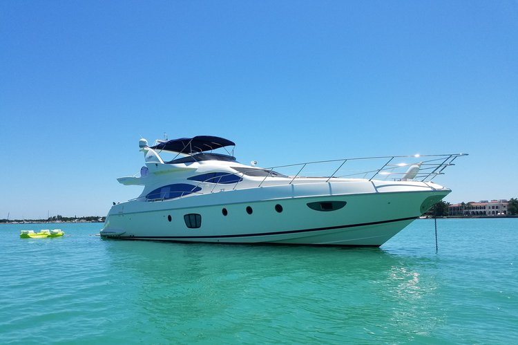 Yatch Party Rental -  62  Azimut