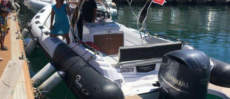 Elegant Ranieri 940 available for charter in Malta