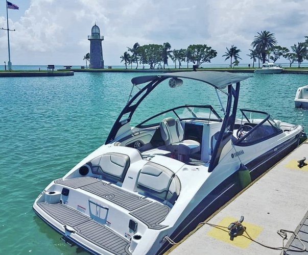 Boating is fun with a Jet boat in MIAMI