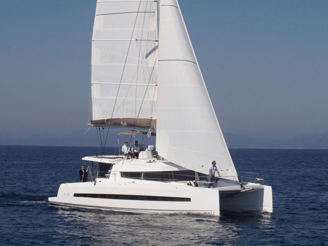 Indulge in luxury onboard Bali 4.3 Owner Version in Nassau
