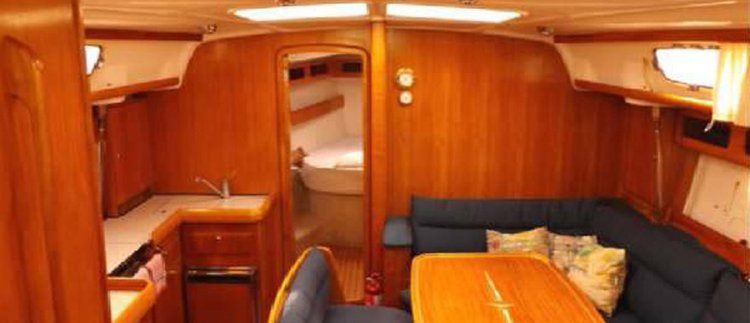 Discover St Julian's surroundings on this 42 Cruiser Bavaria boat