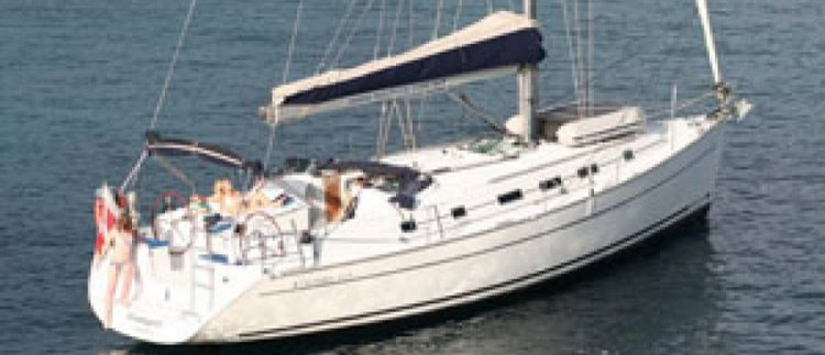 Discover St Julian's surroundings on this Cyclades 43.4 Beneteau boat