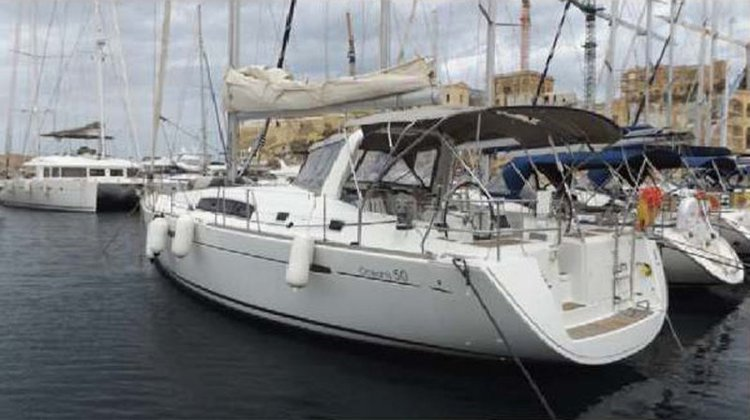 Indulge in luxury aboard Beneteau Oceanis 50 in Malta
