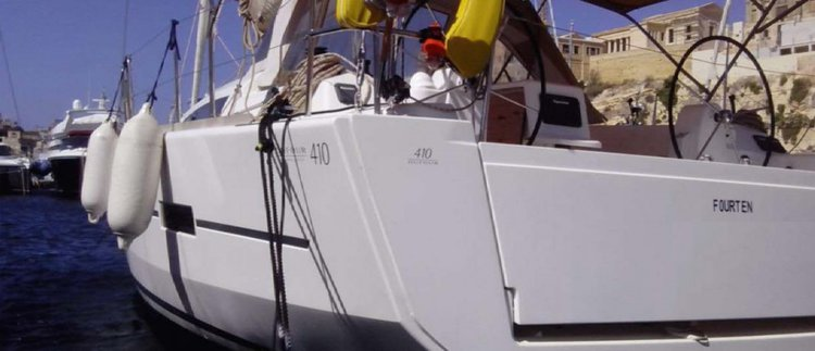 Dufour 410 Grand' Large ready to book in Malta