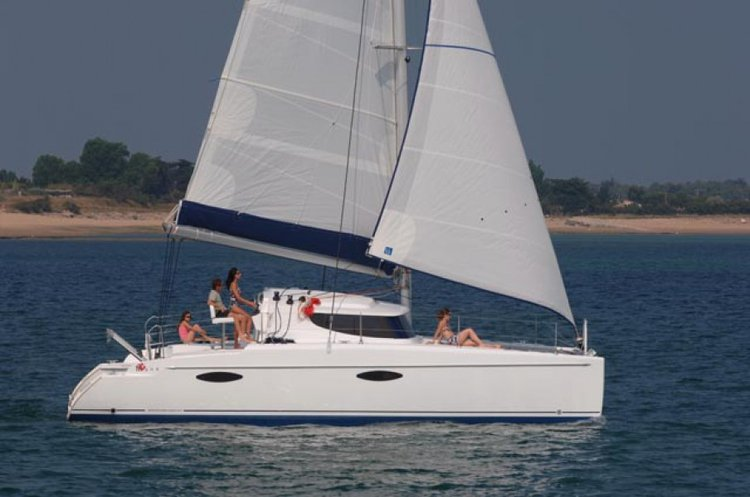Boating is fun with a Catamaran in St. George'S