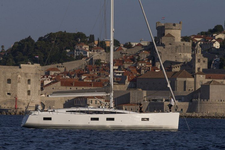 This 54.0' Jeanneau SO 54 DS cand take up to 12 passengers around St Julian's