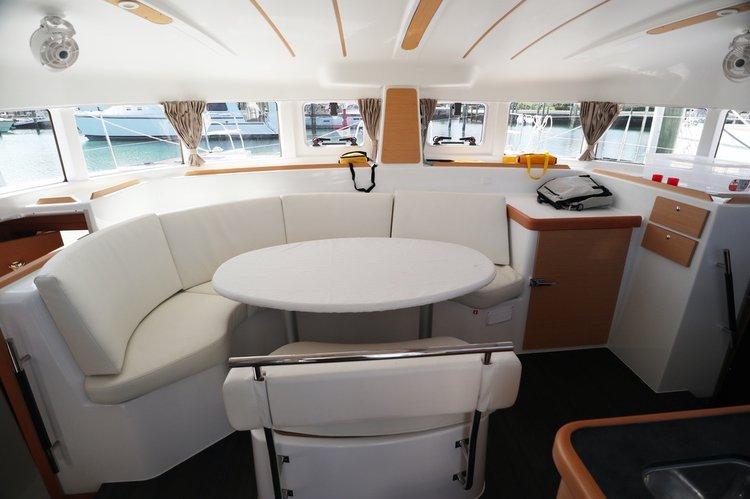 Catamaran boat rental in Nassau, Bahamas