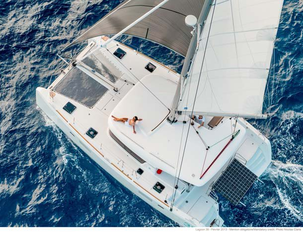 Boat for rent Lagoon 39.0 feet in Nassau,