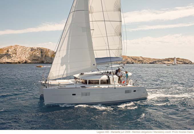 Celebrate this summer in Bahamas aboard Lagoon 400