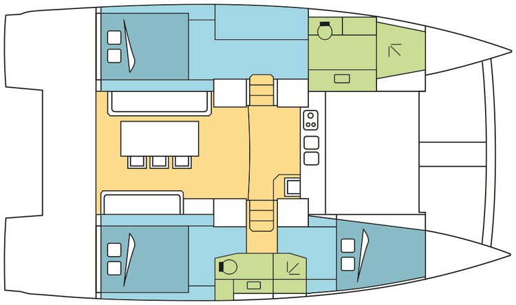Discover Nassau surroundings on this 4.0 Owner Version Bali boat