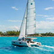 Have fun in the Bahamas aboard this elegant Lagoon 42 owner version