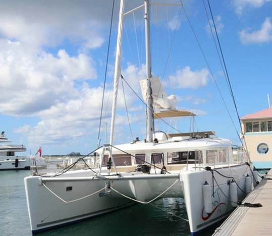 Lagoon's 45.0 feet in Nassau