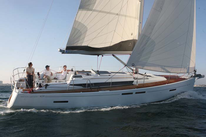 Sun Odyssey's 40.0 feet in Nassau