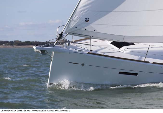 Boat for rent Sun Odyssey 41.04 feet in Nassau,