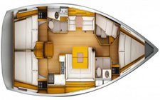 thumbnail-8 Jeanneau 45.1 feet, boat for rent in Abaco, BS