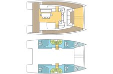 thumbnail-11 Bali 43.0 feet, boat for rent in Abaco, BS
