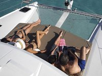 Lovely sailing catamaran available for charter in Grenada
