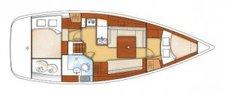 Explore Grenada aboard this elegant Oceanis37