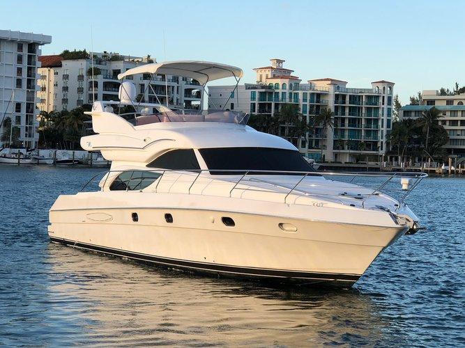 Motor yacht boat rental in Miami, FL