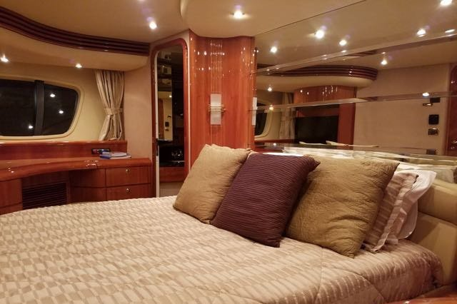 Discover Miami Beach surroundings on this 68 Azimut boat