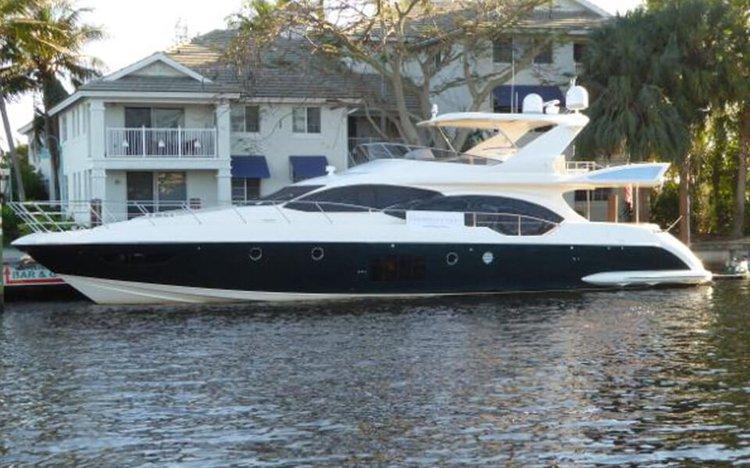 Boat for rent Azimut 70.0 feet in island Gardens Marina, FL