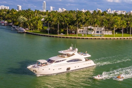 Ferreti's 88.0 feet in MIAMI