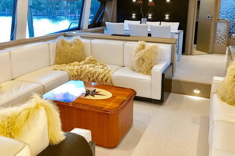 Boat for rent Ferretti 76.0 feet in Island Garden Marina,