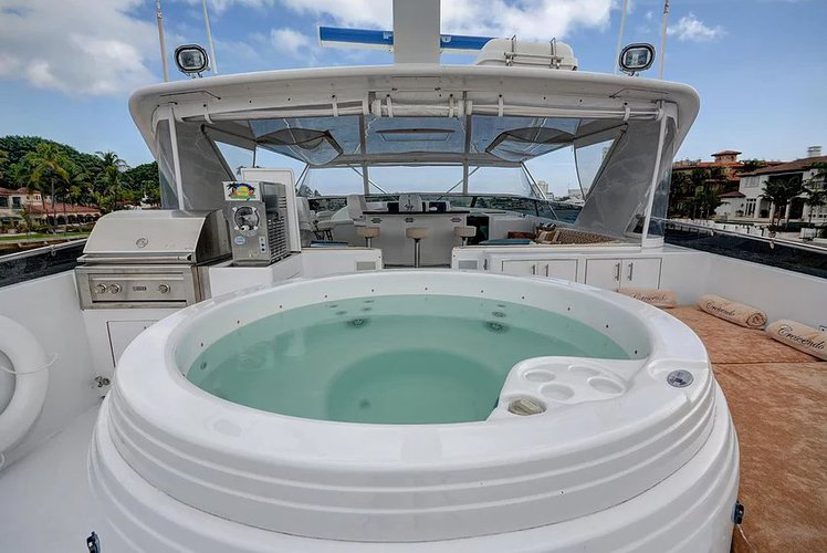 Boating is fun with a Mega yacht in Miami Beach
