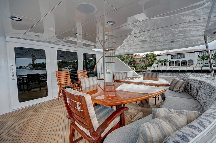 Mega yacht boat for rent in West Palm Beach