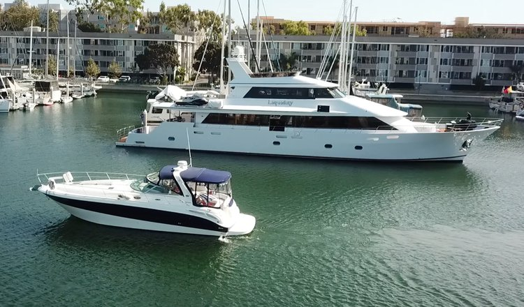 Express cruiser boat rental in Marina City Club, CA