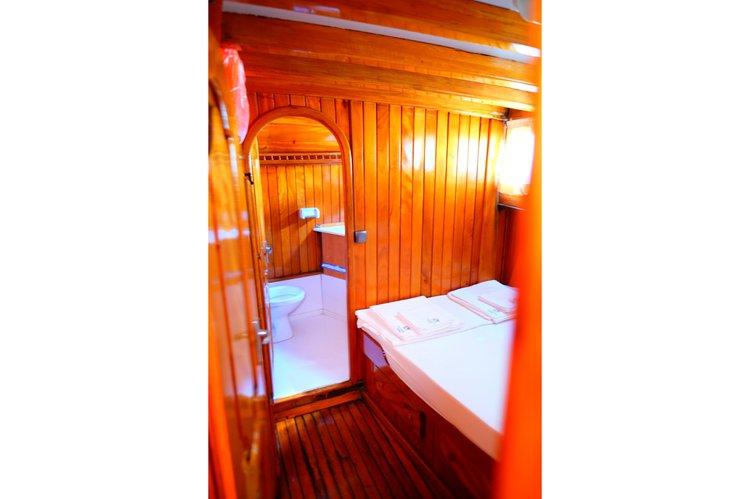 Classic boat rental in Rhodes,