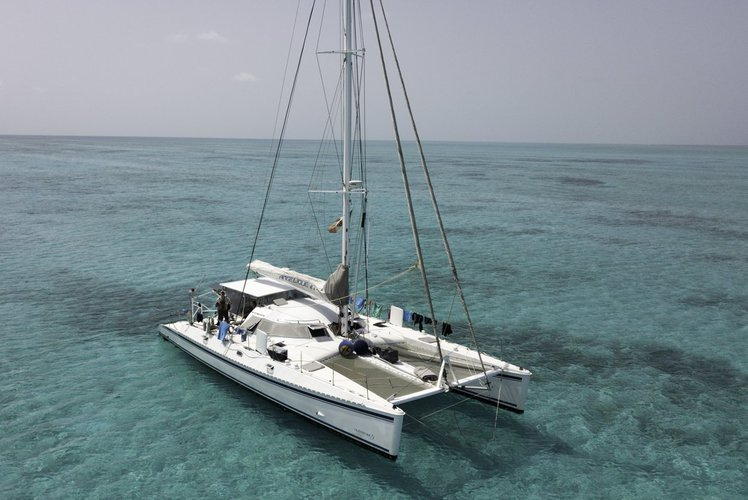 Outremer's 55.0 feet in Belize City