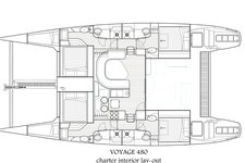 thumbnail-3 Voyage 48.0 feet, boat for rent in Tortola, VG