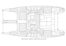 thumbnail-8 Voyage 48.0 feet, boat for rent in Tortola, VG