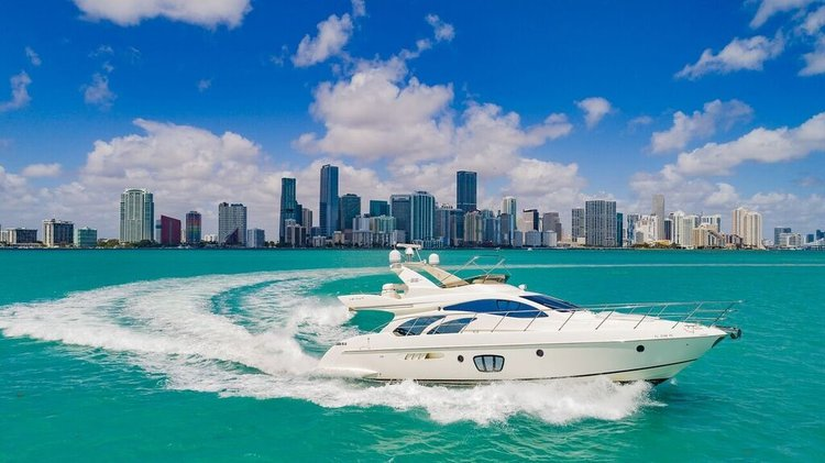 Yacht Party Rental - 55' Azimut!