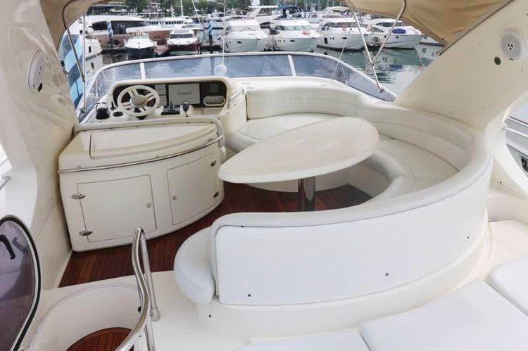 Azimut boat for rent in Phuket
