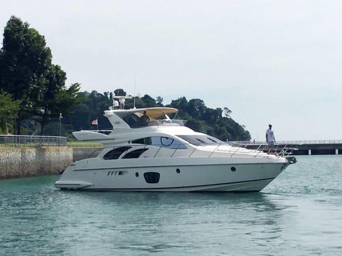 Boat for rent Azimut 57.5 feet in Ao Po Grand Marina, Thailand