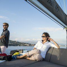 Discover Le Marin surroundings on this 4.0 Bali boat