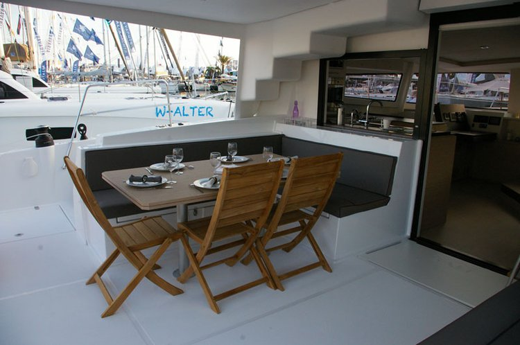 Catamaran boat rental in Le Marin, Martinique
