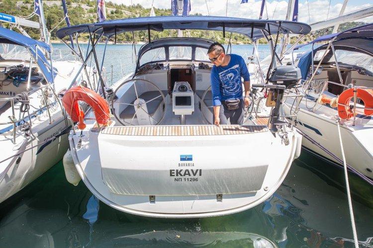 Celebrate this vacation in Sibenik, Croatia aboard Bavaria Cr. 41