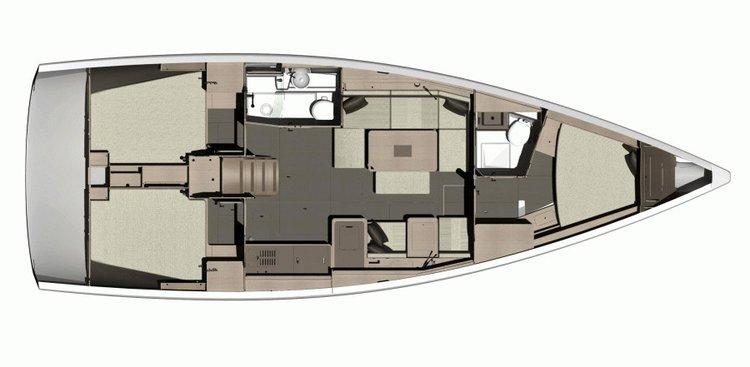 Sloop boat rental in Dubrovnik,