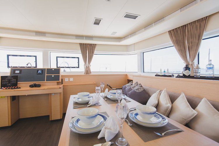 Discover Phuket surroundings on this 52 F Lagoon boat