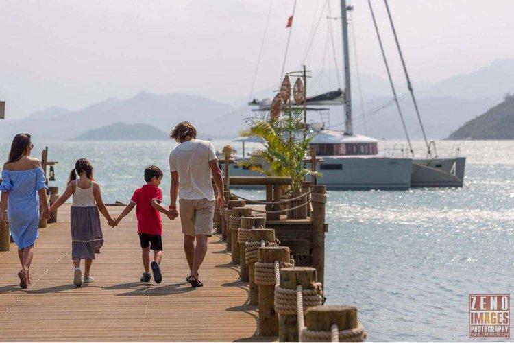 Boat for rent Lagoon 56.0 feet in Nha Trang Marina, Vietnam