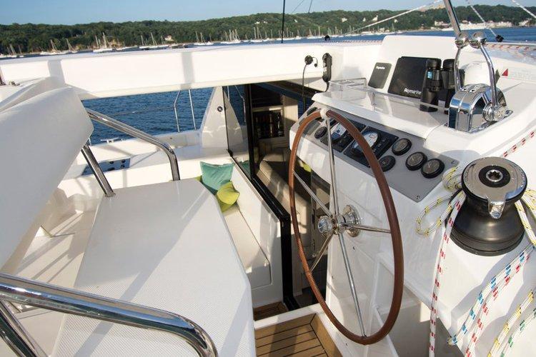 Boating is fun with a Catamaran in Key Largo