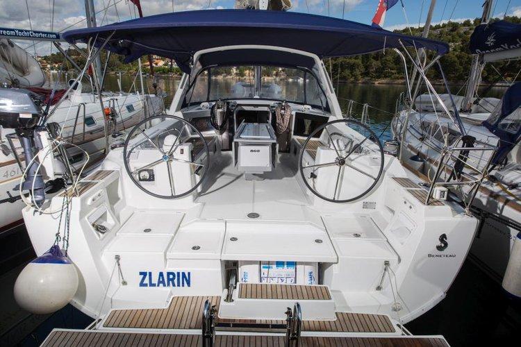 Get ready for a pleasant surprise in Sibenik, Croatia aboard Oceanis 41