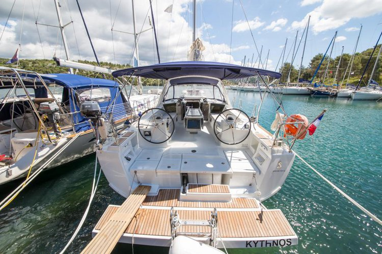 Celebrate your upcoming vacation in Sibenik, Croatia aboard Oceanis 41