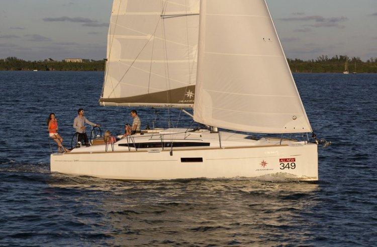 Sun Odyssey's 34.0 feet in Tortola