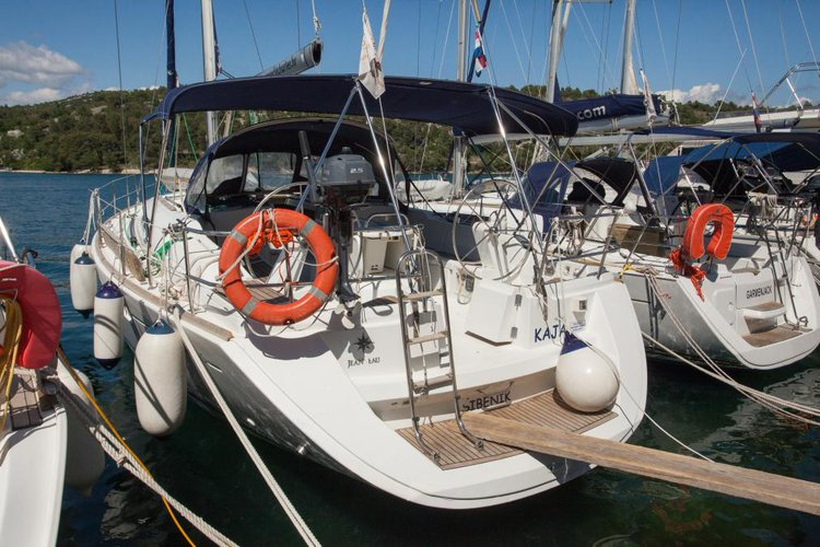 Elegant Sun Odyssey 45 available for charter in Sibenik, Croatia